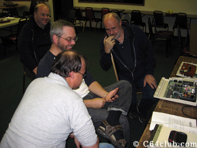 Socializing - Commodore Computer Club