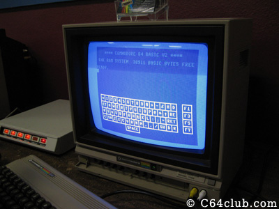 C64 DTV Virtual Keyboard Jeri Ellsworth - Commodore Computer Club