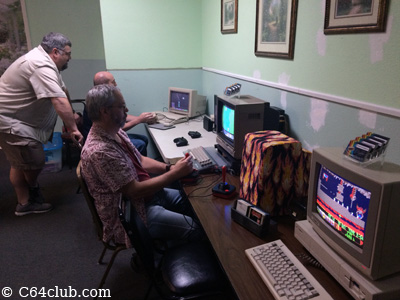 Amiga 500, Clear C64C, Vectrex, Amiga 1000 Lemmings - Commodore Computer Club
