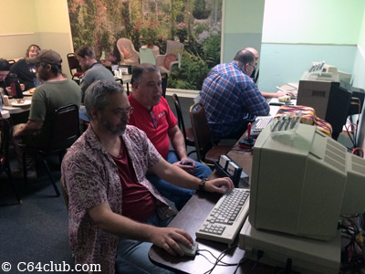 Amiga 1000 C64 Game Time - Commodore Computer Club