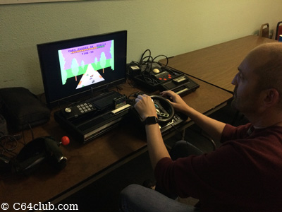 Doug with Colecovision Video Game Console - Commodore Computer Club