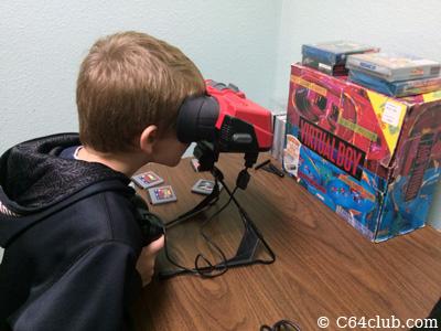 Nintendo Virtual Boy VirtualBox In Box - Commodore Computer Club