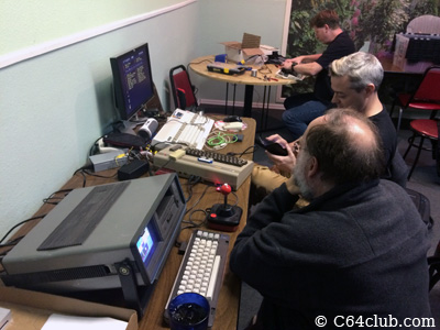 George SX-64, Chad Amiga 1200 - Commodore Computer Club