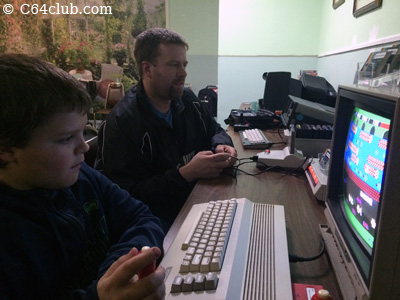 Ryan and Michael C64 Frogger Game - Commodore Computer Club