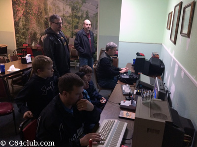 C64 Friends playing games - Commodore Computer Club