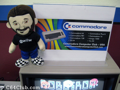 Wil Wheaton - Commodore Computer Club