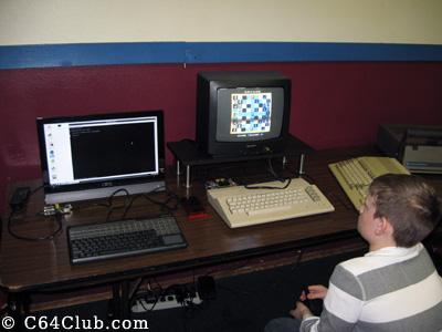 Archon Game C64c - Commodore Computer Club