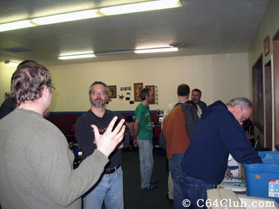 Socializing around the Commodore Marketplace - Commodore Computer Club