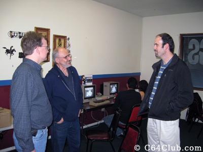Commodore Friends Socializing - Commodore Computer Club