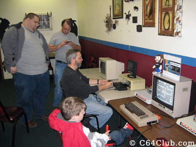 Gaming fun and socializing - Commodore Computer Club