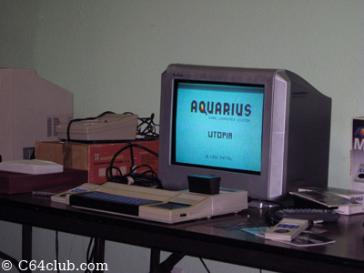 Mattel Aquarius computer - Commodore Computer Club