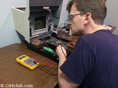 CBM PET 4016 Multimeter - Commodore Computer Club