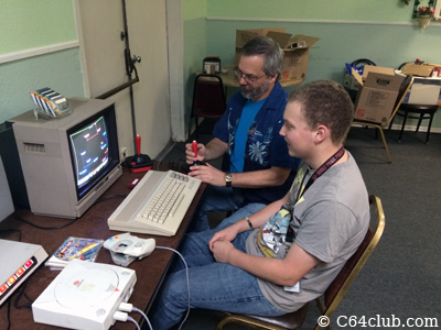 C64 Space Taxi EasyFlash 3 Game - Commodore Computer Club