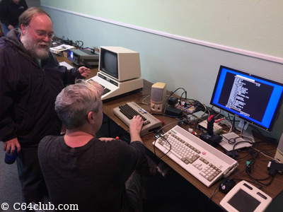 George, Chad, C64, Amiga A1200 - Commodore Computer Club