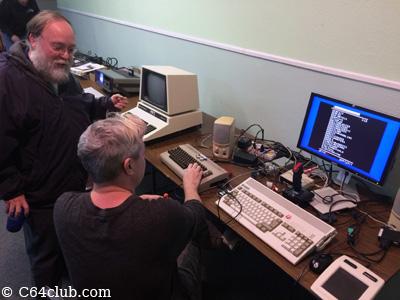 George, Chad, C64, Amiga A1200 - Commodore Computer Club