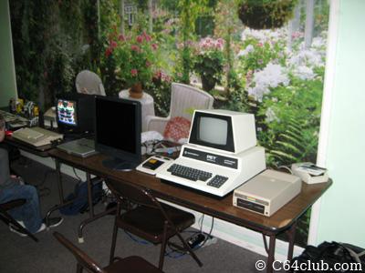 SFD-1001 disk drive, Commodore PET, Koala Pad, Commodore 64c - Commodore Computer Club
