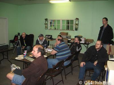 Retrobits presentation at the Commodore Computer Club