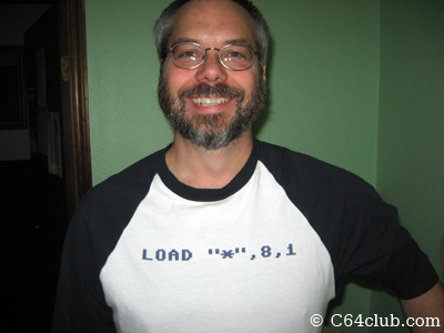 Commodore T-Shirt with program load command - Commodore Computer Club