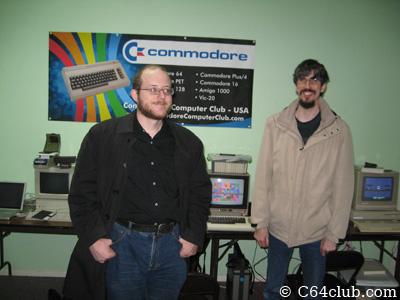 Gordon Steemson and Ryan Sherwood - Commodore Computer Club