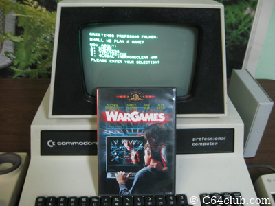 War Games - Shall We Play A Game? - Commodore Computer Club