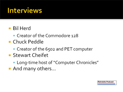Bil Herd, Chuck Peddle, Stewart Cheifet - Commodore Computer Club