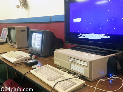 1702 monitor, C64C, Amiga 2000 - Commodore Computer Club
