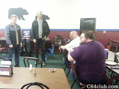 C64 Friends Socializing - Commodore Computer Club
