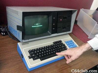 Kaypro II Computer - Commodore Computer Club