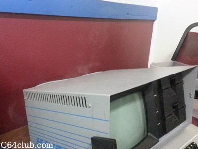 Kaypro II Computer Magic Smoke - Commodore Computer Club