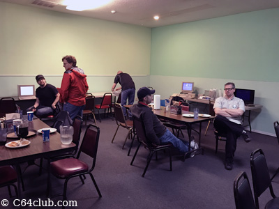 C64 Friends Socializing - Commodore Computer Club