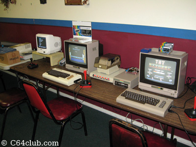 C64DTV, VIC-20, C64 - Commodore Computer Club