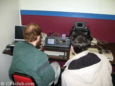 Gordon and Ryan - Commodore Computer Club