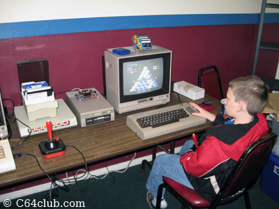 Playing Q*Bert on the C64 - Commodore Computer Club
