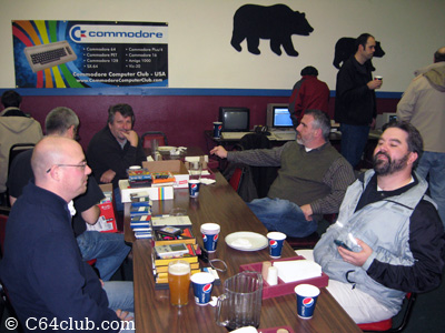 Members, Guests Socializing - Commodore Computer Club