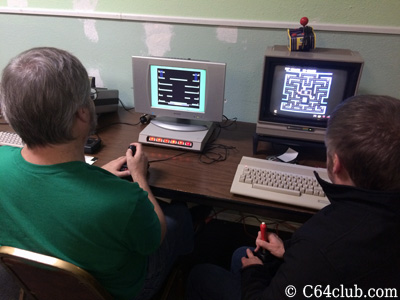C64 Jumpman and Ms. Pac-Man Commodore Computer Club