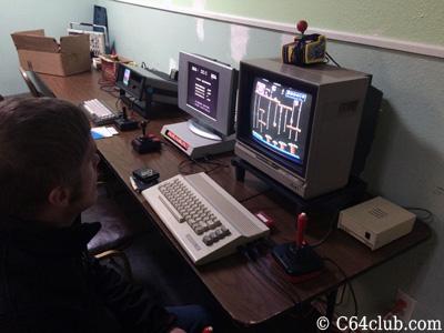DK Junior Donkey Kong Jr C64 Homebrew Game - Commodore Computer Club