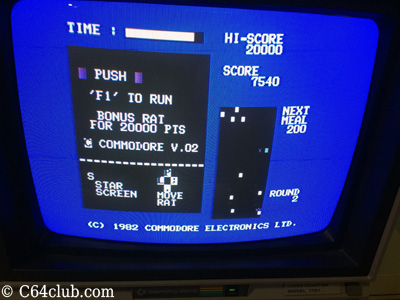 Radar Rat Race C64 Game - Commodore Computer Club