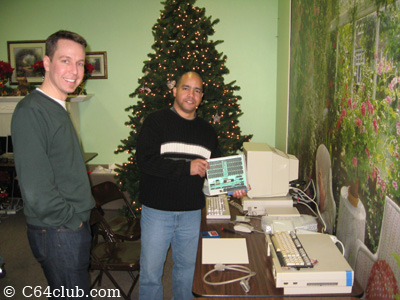 Gregory and Ivan - Commodore Computer Club