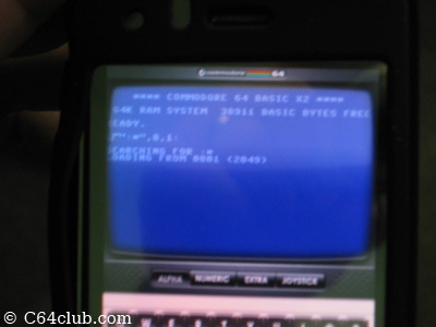 Apple iPhone C64 Emulator - Commodore Computer Club