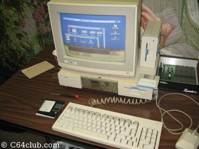 Dan's Amiga Setup - Commodore Computer Club