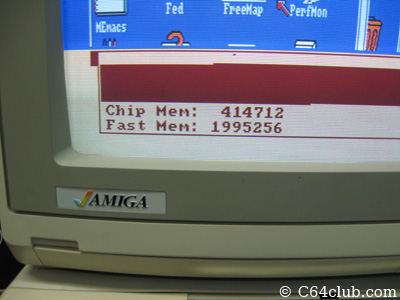 Amiga Monitor Memory Free - Commodore Computer Club