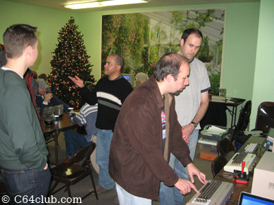 Gregory, Ivan, Brandon, Dan - Commodore Computer Club