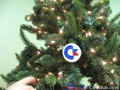 Commodore Christmas Tree Ornament - Commodore Computer Club
