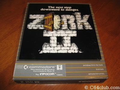 Zork II For Plus 4 - Commodore Computer Club