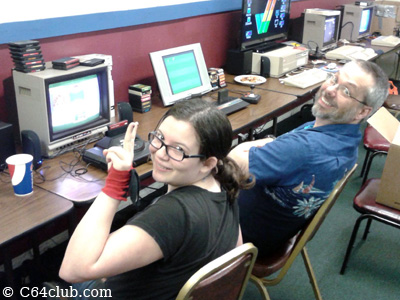Marci and Tom  Sega Genesis with Master System converter - Commodore Computer Club