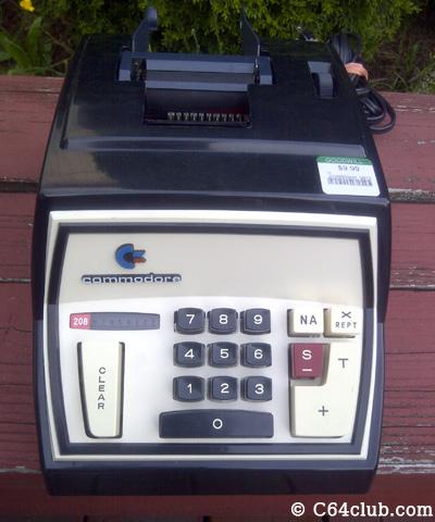 Commodore CBM 208 Adding Machine Calculator