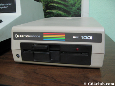 SFD-1001 Disk Drive - Commodore Computer Club