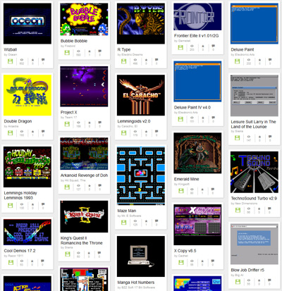 Internet Archive Amiga Software Games - Commodore Computer Club