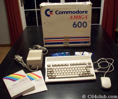 Amiga 600 A600 - Computer Computer Club