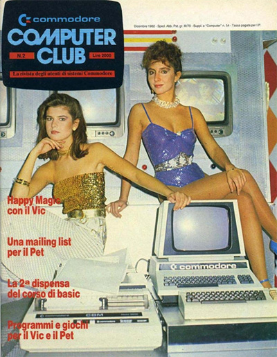 1982 Commodore Computer Club Italian magazine